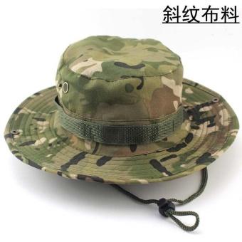 Round Edge Hat Outdoor Jungle CP CAMOUFLAGE - Intl - intl