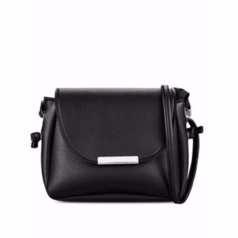 Túi xách nữ mini nẹp bầu thời trang ( Đen)