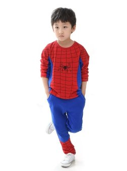 Quần áo người nhện Spider Man 130cm