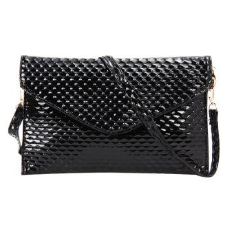 Fashion Lady Clutch Wallet (Black) - intl