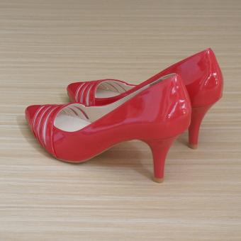 Giày cao gót UNI 0711 (Đỏ)