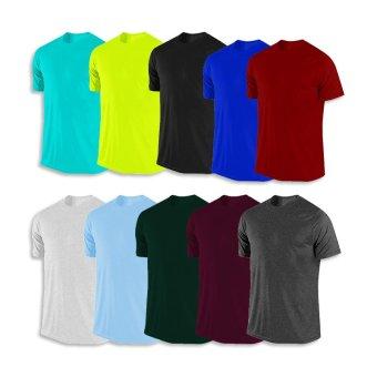 Bộ 10 áo thun nhiều màu LAKA