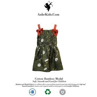 Baby Green Strap Dress 94-98 cm