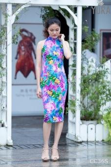 Đầm hoa body năng động CC36S