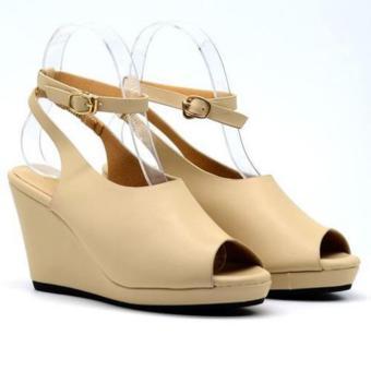 Giày sandal đế xuồng Eva4178 Kem