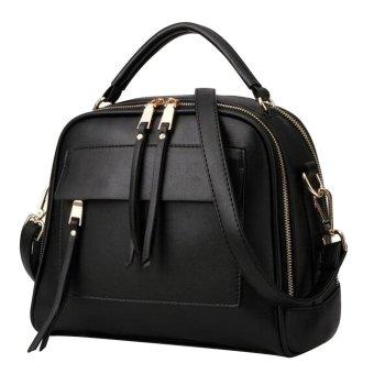 Túi xách nữ Túi xách Túi xách Bolsas Túi đeo vai (Màu đen)
