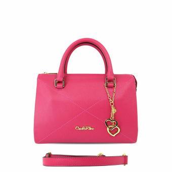 Túi xách tay đường chéo Carlo Rino 0303335-001-54 (hồng)