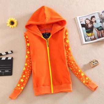 áo khoác nữ -màu cam