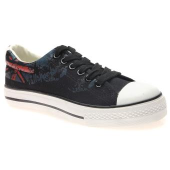 Giày Sneaker Thể Thao Nam Hnp Gn027 (Đen)