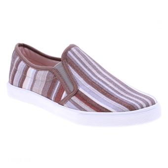 Giày xỏ nữ Aqua Sportswear W127 (Sọc nâu)