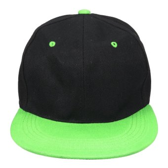 Mua Fashion Men Women Baseball Snapback Hat Hip-Hop Hunting Cap Sport Hat Adjustable Black-green - intl giá tốt nhất
