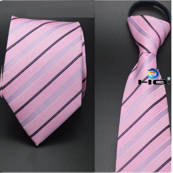 Cà vạt nam bản vừa kéo khóa HQ 2TI48 1(hồng)
