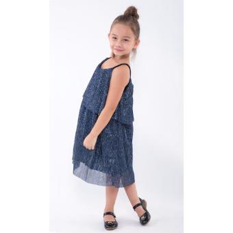 Đầm bé gái Ugether UKID165 (Xanh)