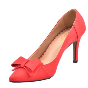 Giày thời trang Aly cao gót 7 phân (Đỏ)