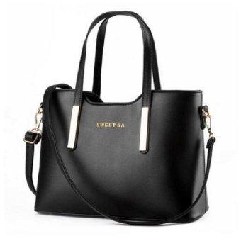 Túi xách nữ kèm dây đeo cao cấp TX6969-26-2A (Đen)