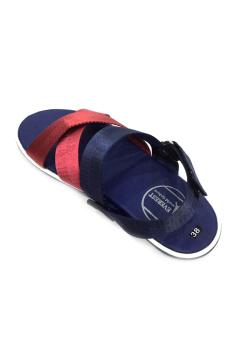 Giày Sandal 3 quai chéo Everest E110 (Đỏ – Xanh) D01