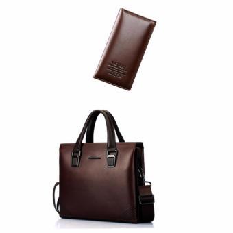 Bộ túi xách và ví da công sở thời trang DT2755