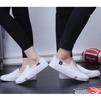 Giày lười nam mẫu đẹp ( trắng )