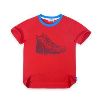 Áo thun bé trai Oiwai 68-0058-011 RED (đỏ)