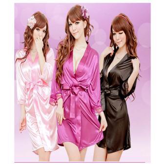 Áo Ngủ Dạng Váy De200 (Tím)