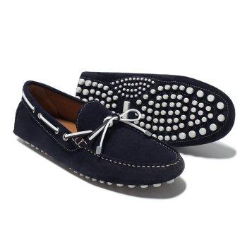 Giày da Moca Zara (Xanh)