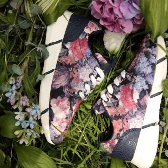 giày flower shoes Hàn Quốc
