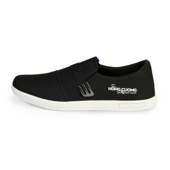 Giày thể thao nam thời trang Hùng Cường HC1401 (Đen)