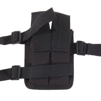 Universal Horizontal Shoulder Holster Black - INTL