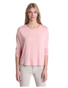 Áo thun hồng nữ tay dài Kenneth Cole New York Women's Aubrey Knit Top (Mỹ)