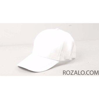 Mũ lưỡi trai Rozalo RM4940 - Trắng