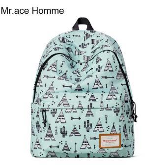 Balo Thời Trang Mr.ace Homme MR16A0239B01 / Xanh bạc hà