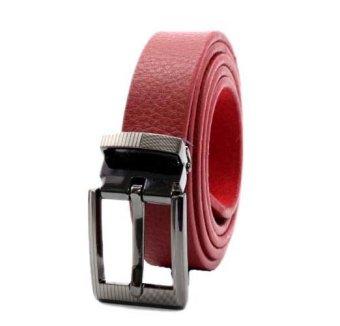 Thắt lưng nữ tuibopda.com da bò TLB_022 ( màu đỏ )