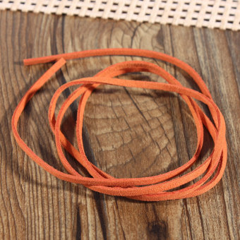 Teamwin New 3mm Leather Suede Craft Rustic String Ribbon Cord Tag Jewellery Bracelet 1m - Intl