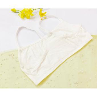 Bộ 3 áo lót nữ 2 dây quây ngực thể thao CP30510 (trắng)