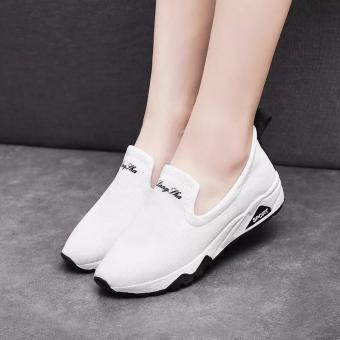 Giày Mọi Thời Trang Nữ Sport - LN1258 - Trắng