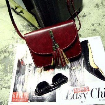 Women Shoulder Bag Handbag Clutches Casual PU Leather Top-Handle Bags - intl