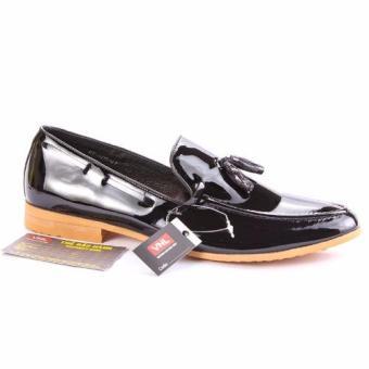 Giày tây nam công sở da thật cao cấp màu Đen MT Da Giày Việt nam VNLMT6AZ09D-3 (Đen)