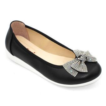 Giày mọi nữ Om Fashion 1217 (Đen)