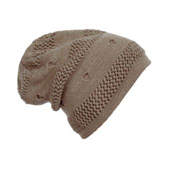 Winter Unisex Mens/Women's Knit Hat Beret Skull Cap Ski Sport Hat (khaki) (Intl)