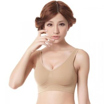 Áo ngực định hình không gọng D-BRA (Da)+ Tặng kèm 1 quần lot free size
