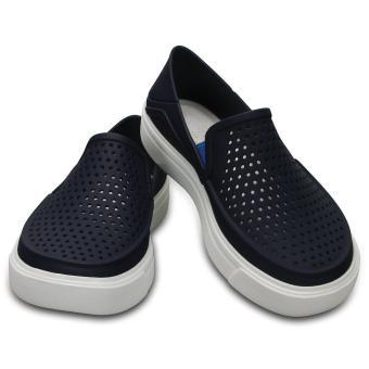 Giày lười & Giày mọi bé trai Crocs - 204026-410 - CitiLane Roka K Navy (Đen)