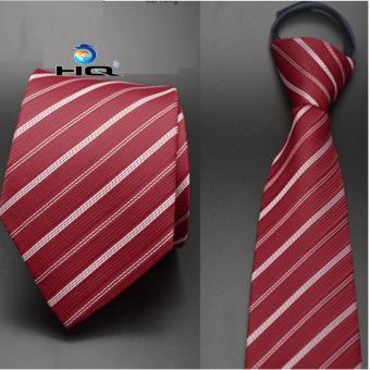 Cà vạt nam bản vừa kéo khóa HQ 2TI48 10(đỏ)