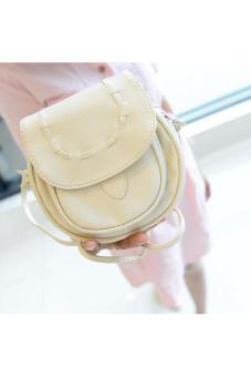 Túi đeo chéo thời trang San (kem)