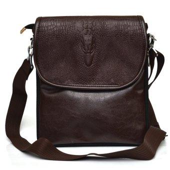 Túi đeo chéo nam hàng VRG008954 (Nâu)