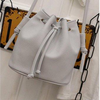 Túi nữ thời trang phong cách Hàn Quốc HQ 9TU54 3(ghi)