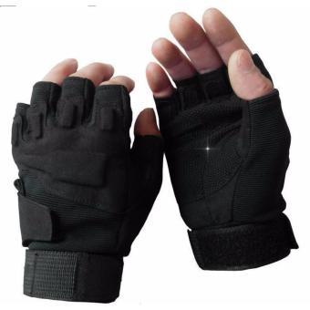Găng tay cụt ngón Blackhawk (Đen)