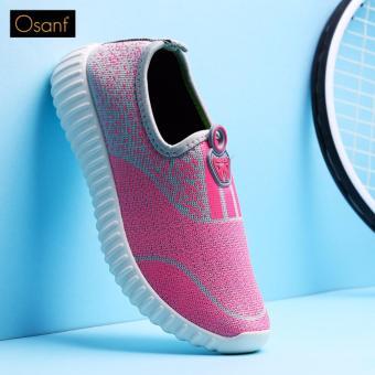 Giày Lười Thể Thao Cá Tính OSANT - GL004 (Hồng)