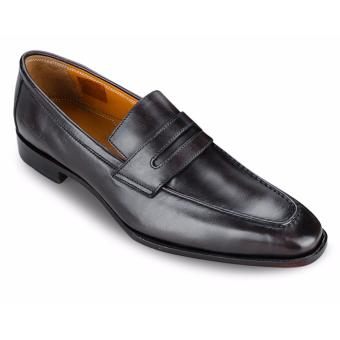 Giày Da Pierre Cardin Brown Penny Loafer - PCMFWLA015