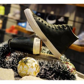 Giày Converse Chuck II Mesh Backed Leather 153554 (Rêu Cao)