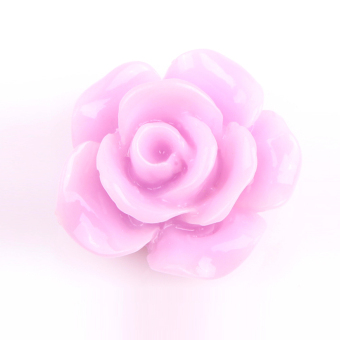 Fancyqube Resin Rose Flower Flatback Appliques For Phone Wedding Accessories Craft DIY - Intl